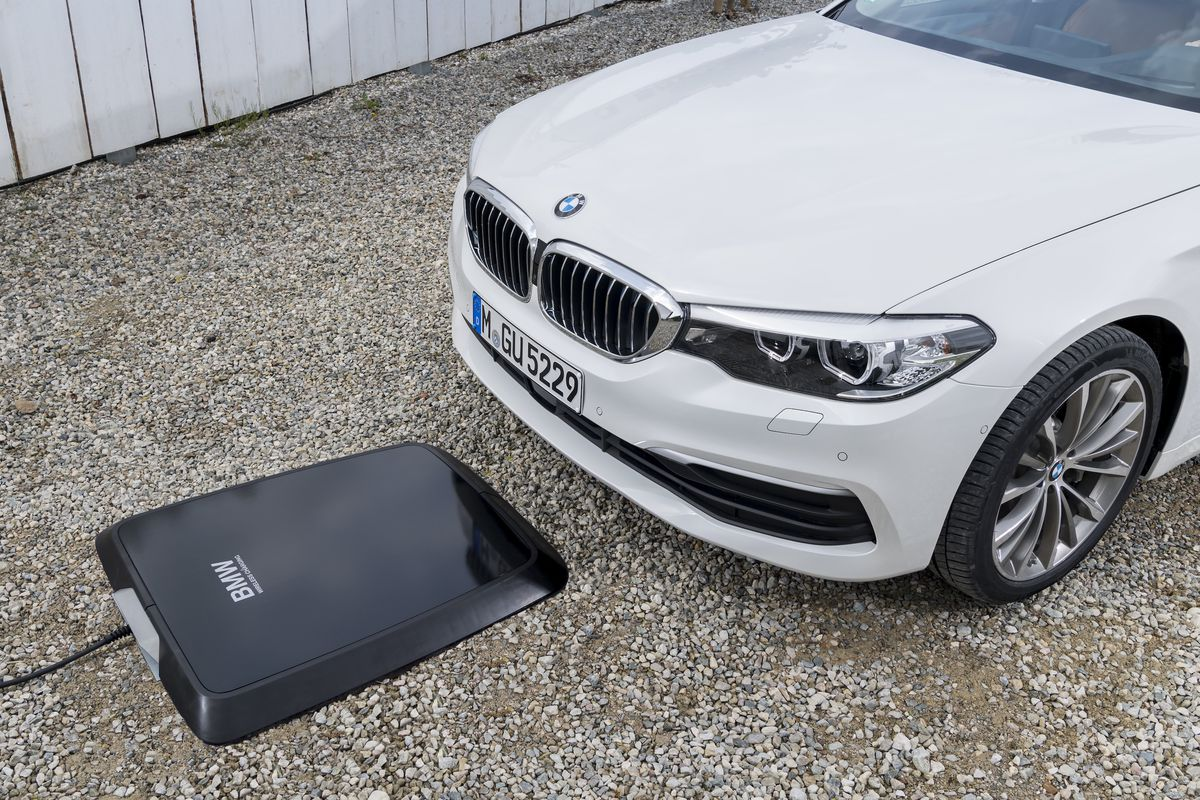 BMW charging system