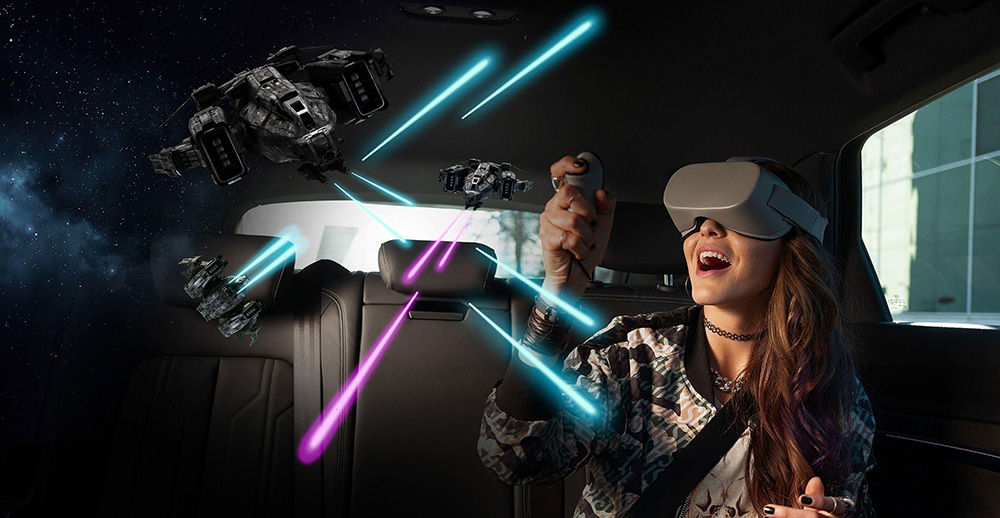 Audi Disney Virtual Reality ride