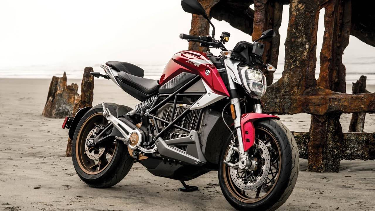 Zero Motorcycles SR/F Electric Bike