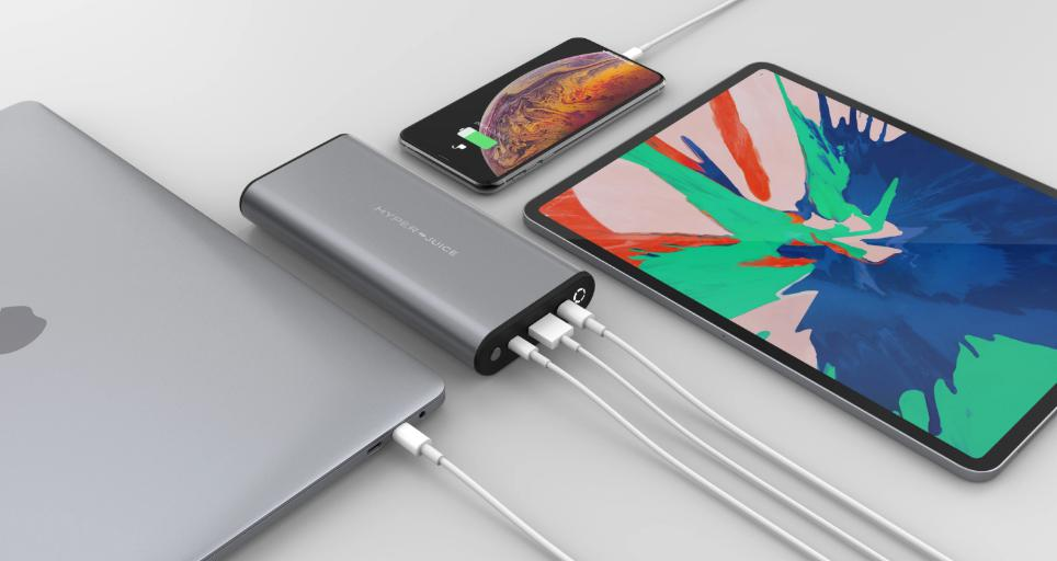 HyperJuice 130W USB-C Battery + Charger Bundle