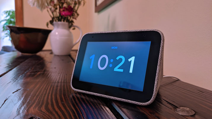 Lenovo Smart Clock – Google Assistant integrated