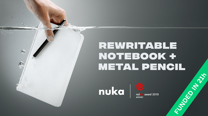 Nuka Eternal Stationery Notebook